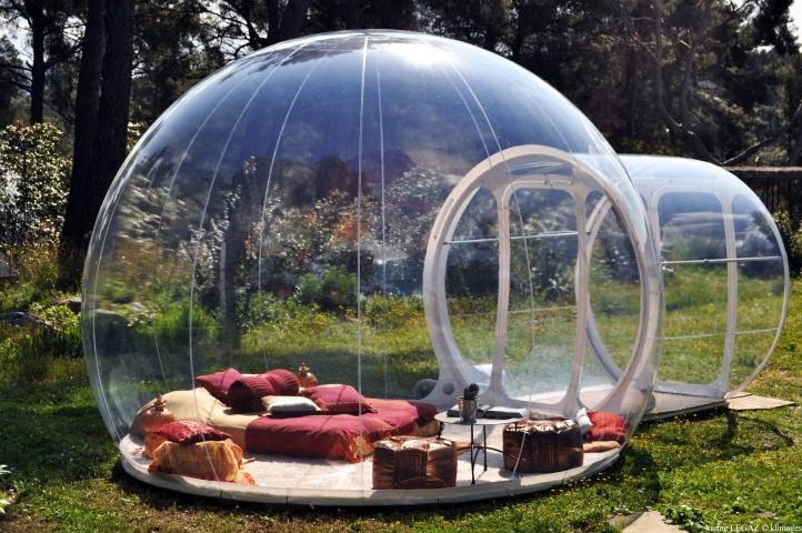 La bulle de jardin vous connaissez abri de jardin et for Abri de piscine bulle