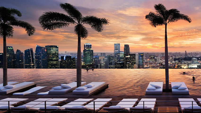 Hotel Marina Bay Sands - Singapour