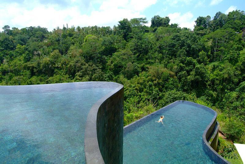 Hotel Ubud Hanging Gardens - Indonésie