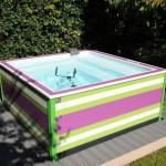 1ère micro piscine du marché, doodoopool a été lancé en mai dernier