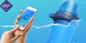 blue, l'analyseur de piscine intelligent est le premier objet connecté pour piscine.