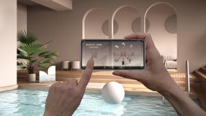 Piscine connectée smartphone